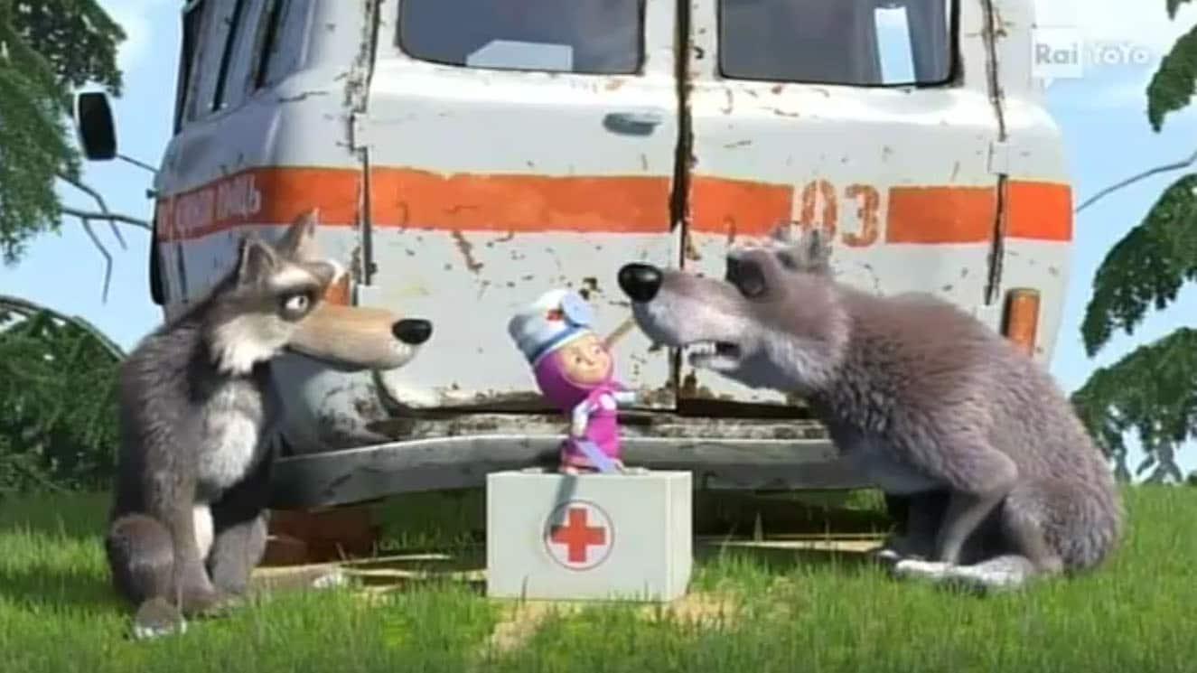 Rai Yoyo Masha e Orso - S1E5 - Masha piccola infermiera