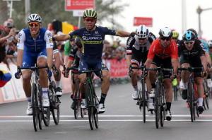 Ciclismo: Abu Dhabi, 2/a tappa a Kittel