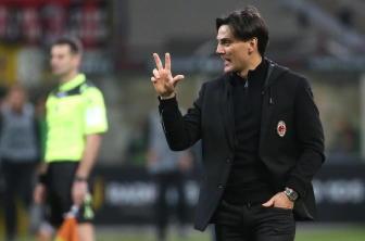Montella, se gioca così Milan in Europa