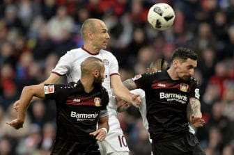 Bundesliga, pari Bayern a Leverkusen