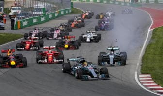 Canada: Vettel 4/o al via, poi la safety