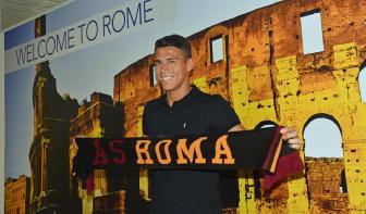 Roma: Moreno sbarcato nella capitale