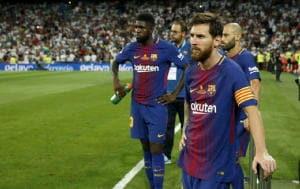 """Barcellona: dolore di Messi """"Sii forte"""""""