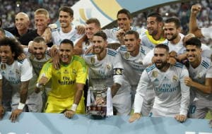 Supercoppa di Spagna al Real Madrid