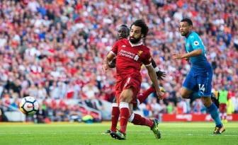 Premier: Salah-gol e il Liverpool vola