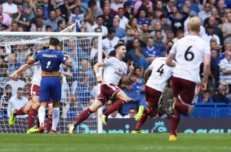 Premier: Chelsea ko, Burnley vince 3-2