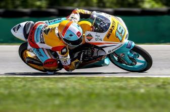 Moto3: Austria, Rodrigo in pole
