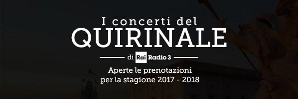 I Concerti del Quirinale di Radio3