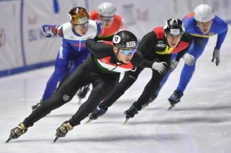 Pattinatori Nordcorea verso Pyeongchang
