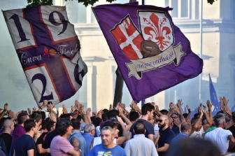 Fiorentina: strisconi contro Della Valle