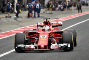 """Vettel """"giornata no, dura per Mondiale"""""""
