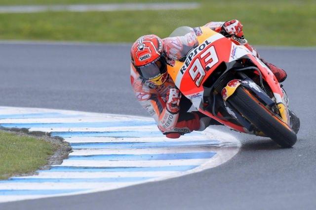 MotoGp: Australia, Marquez precede Rossi