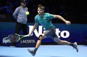 Atp Finals: Federer ko, Goffin in finale