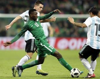 Amichevoli: Argentina-Nigeria 2-4