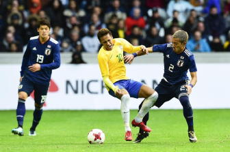 Brasile-Giappone 3-1, Neymar rigore-gol