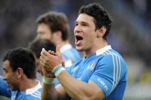 Rugby: Minto sospeso per tre settimane