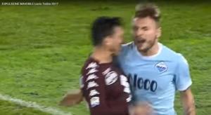 Lazio, 1 turno stop e multa per Immobile