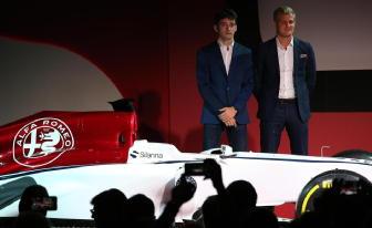 F1: Ericsson-Leclerc piloti Alfa-Sauber