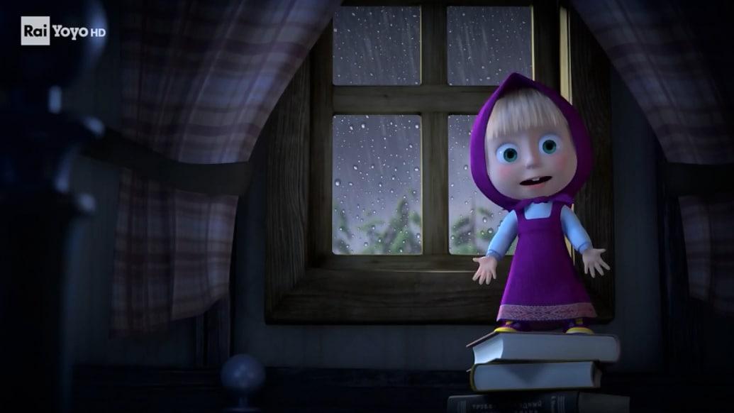 Rai Yoyo Le storie di paura di Masha - S1E21 - La paura del temporale