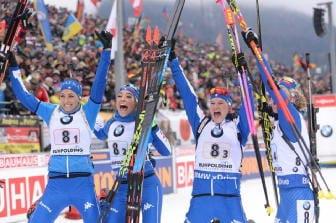 Biathlon: Cdm, azzurre 2/e in staffetta