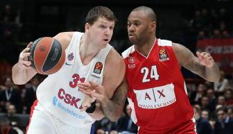 Basket: Milano va Ko anche con Cska