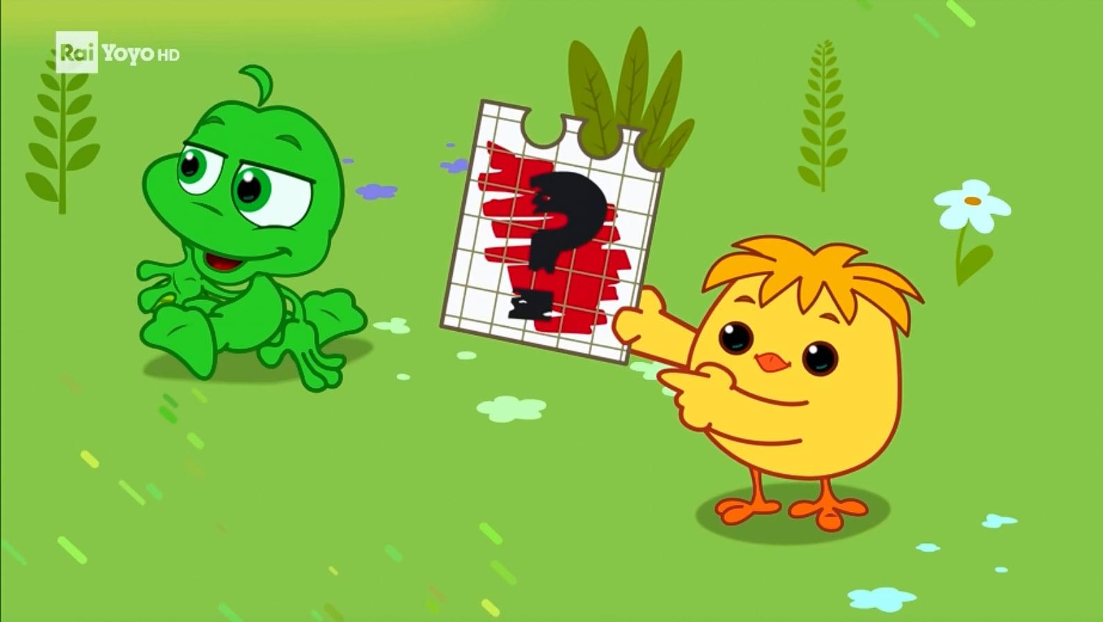 Rai Yoyo I Mini Cuccioli - S2E9 - Il gioco dei colori