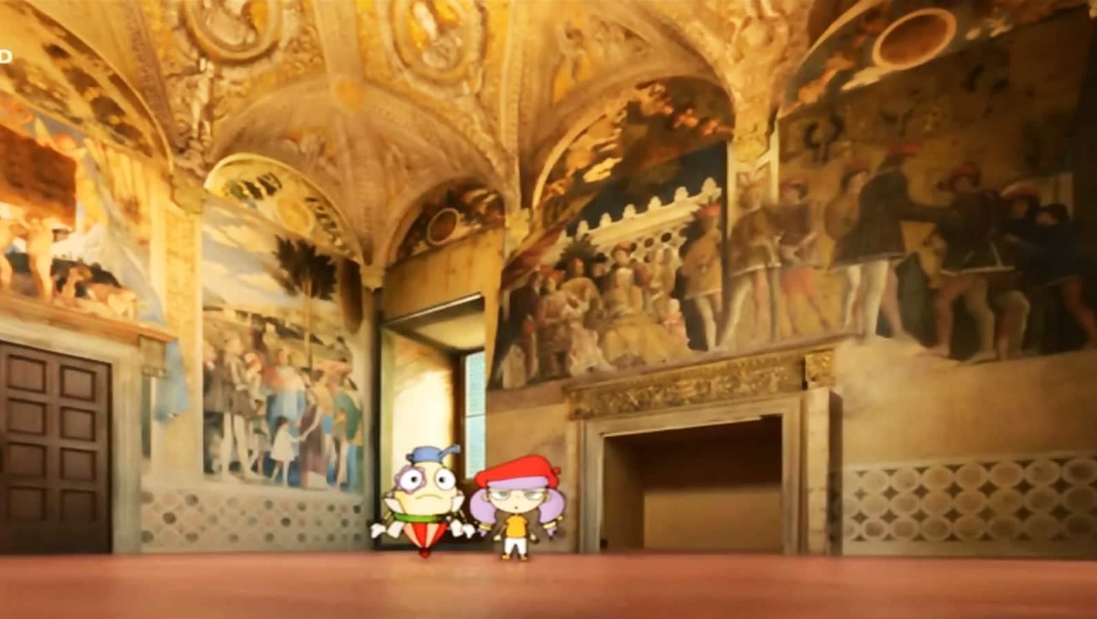 Rai Yoyo L' arte con Matì e Dadà - S1E9 -Andrea Mantegna