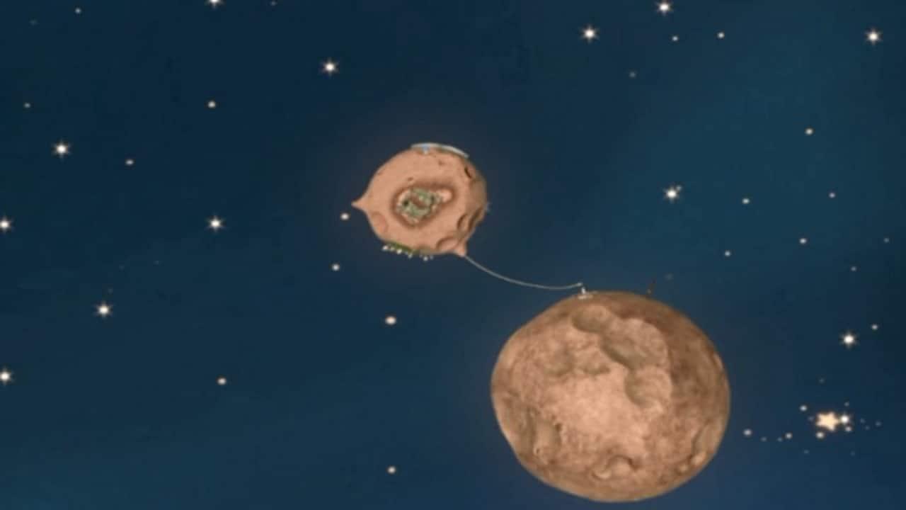 Rai Yoyo Piccolo principe - S3E23 - Z 222 > B 356 - Il pianeta delle nuvole - parte 2