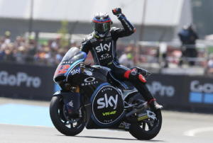 Moto2, Catalogna, Bagnaia domina libere