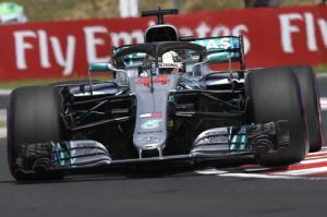 F1: Ungheria, prima fila Mercedes