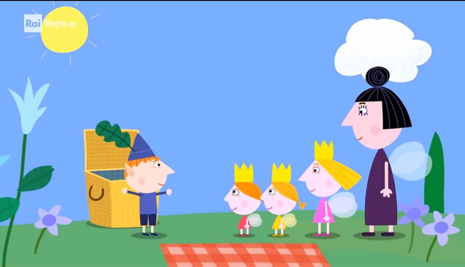 Rai Yoyo Il piccolo regno di Ben e Holly - S1E6 - La teiera della Regina Cardo