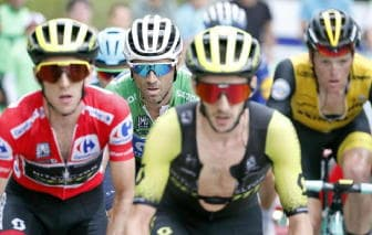 Vuelta:a Wallays 18/a tappa,Yates leader