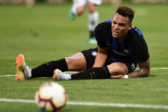 Inter: ancora noie per Lautaro Martinez