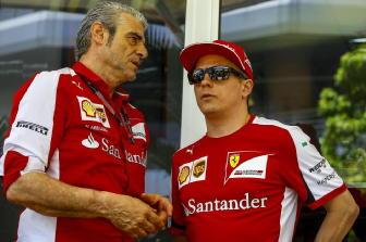 """F1: Arrivabene """"Kimi ha fatto la storia"""""""
