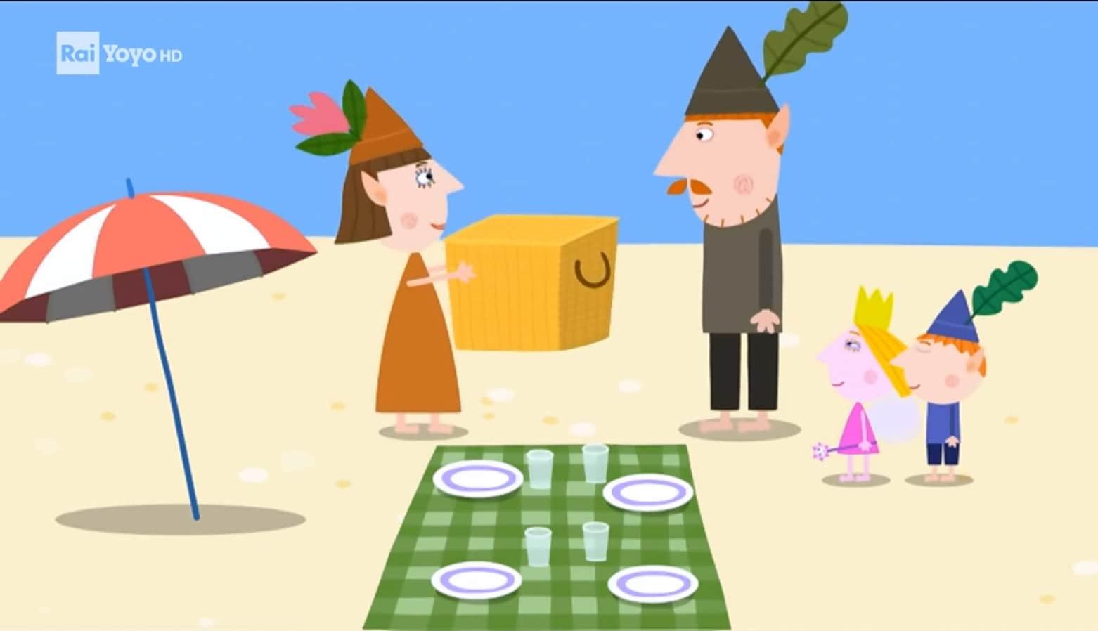 Rai Yoyo Il piccolo regno di Ben e Holly - S1E22 - Gita al mare