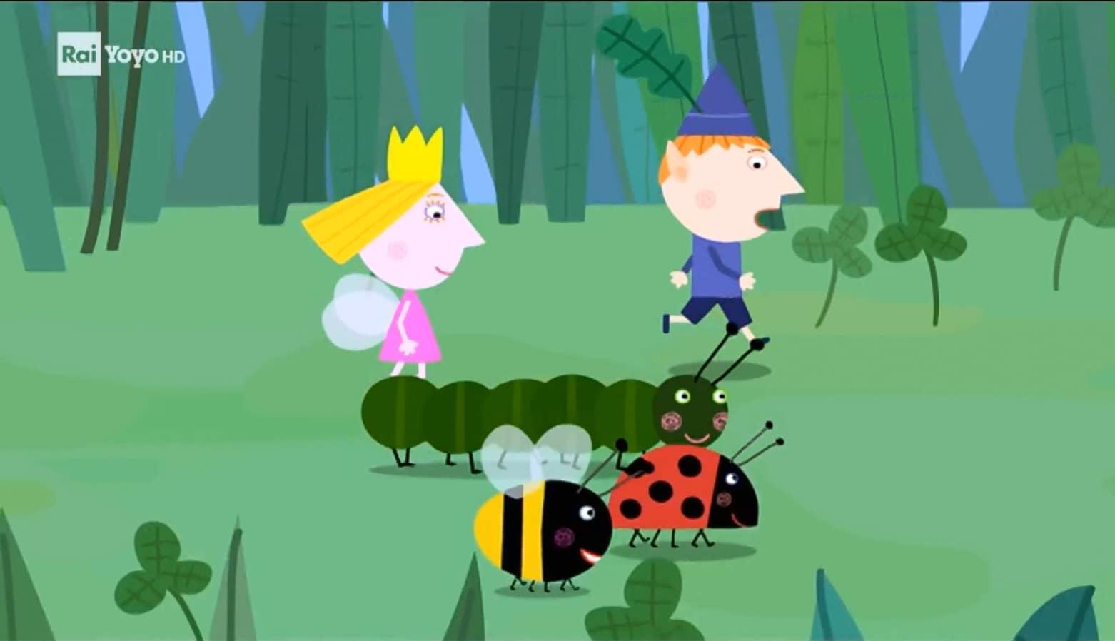 Rai Yoyo Il piccolo regno di Ben e Holly - S1E25 - Il bruco Betty