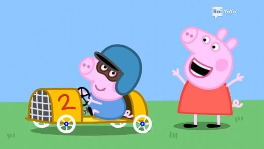 Rai Yoyo Peppa Pig - S6E6 - La gara automobilistica
