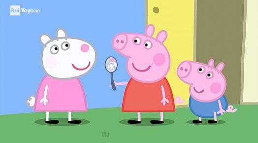 Rai Yoyo Peppa Pig - S6E14 - Gli specchi