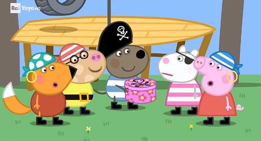 Rai Yoyo Peppa Pig - S6E21 - Il tesoro dei pirati