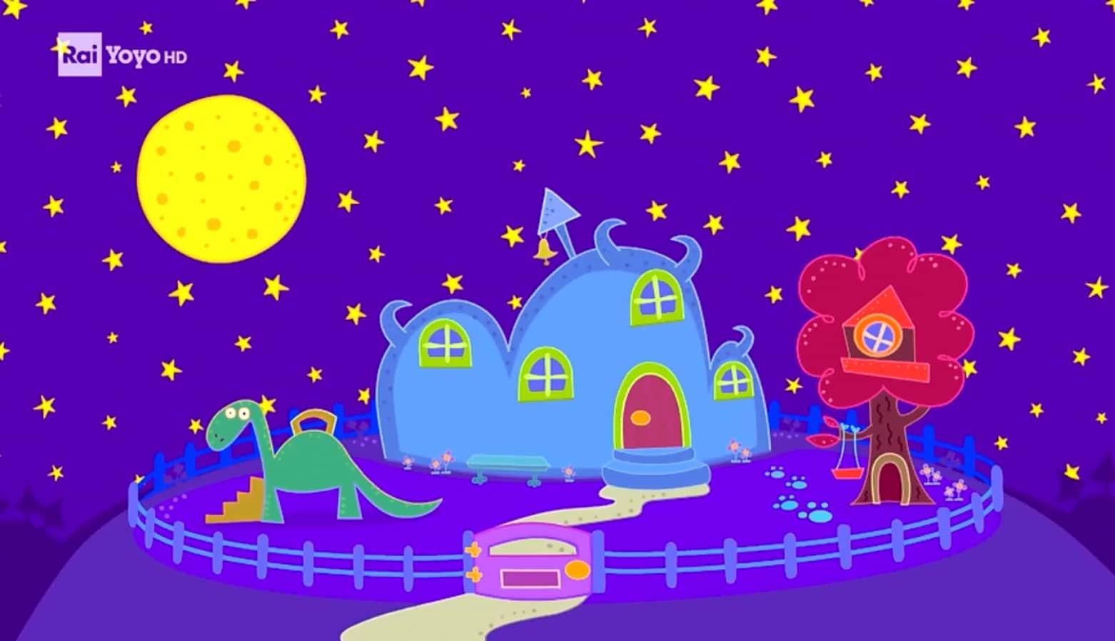 Rai Yoyo School of Roars - S1E19 - Il mostro Luna