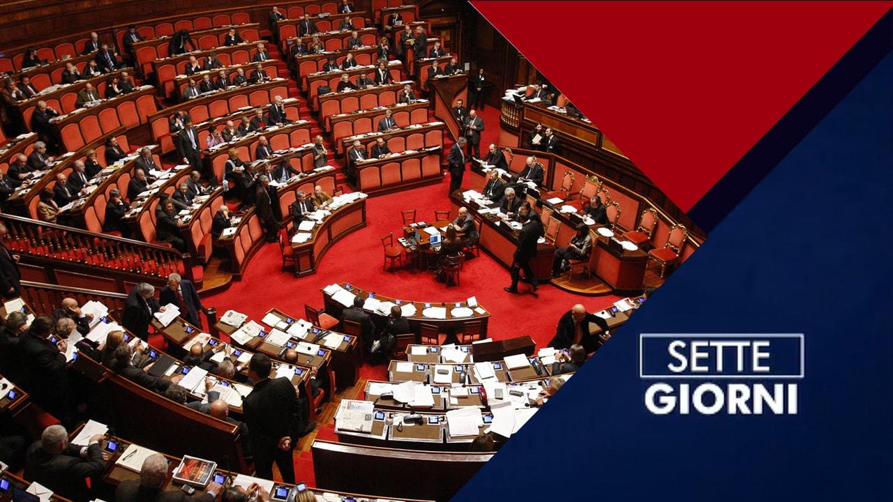 Rai 1 Parlamento Settegiorni