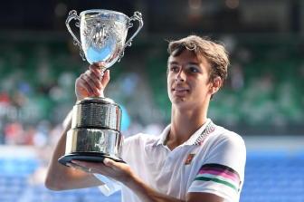 Aus Open, Musetti vince titolo junior