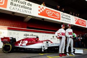 F1: svelata a Montmelo l'Alfa C38