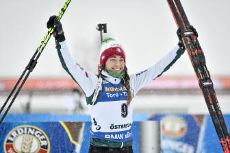 Biathlon: Wierer 12ma nella pursuit