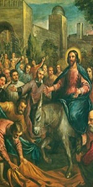 Calendario Cattolico.Domenica Delle Palme