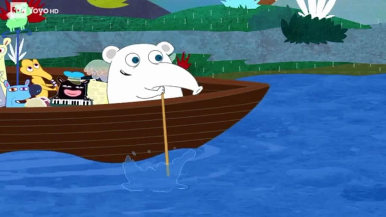 Rai Yoyo Dixi's Simple Songs - S1E10 - Dixi row, row your boat!