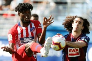 Atletico vince in extremis, basta Lemar