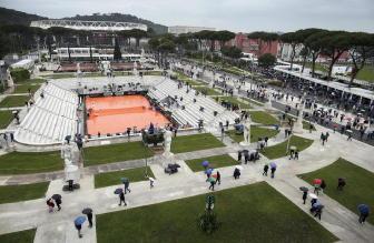 Tennis: Open Italia, modifica programma