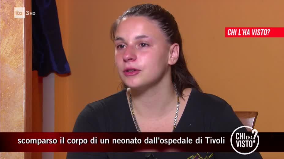 Il corpicino del neonato sparito dall'ospedale di Tivoli - 10/07/2019