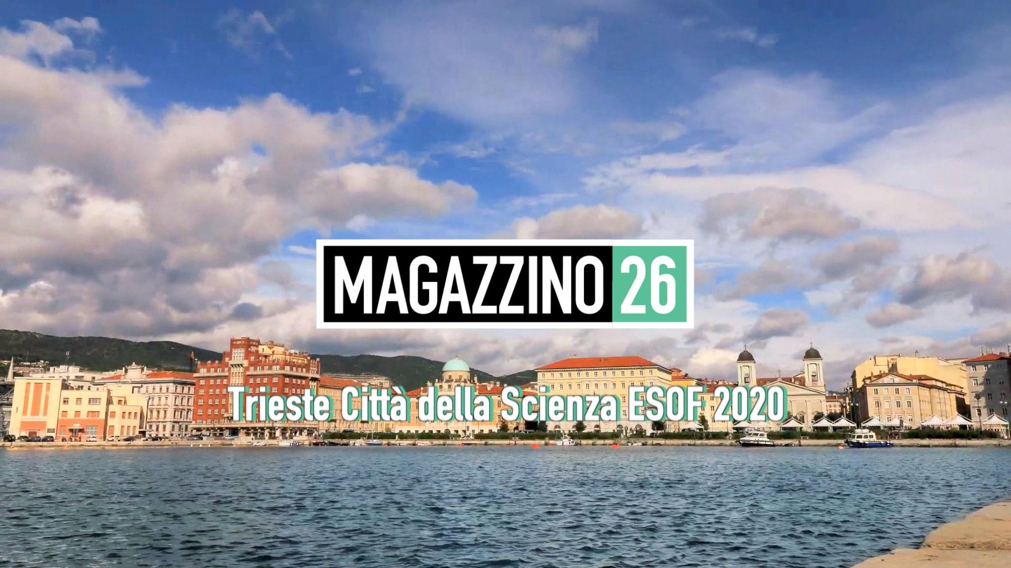 Rai Scuola Magazzino 26 - Trieste Città della Scienza ESOF 2020 Episodio 2 Replica